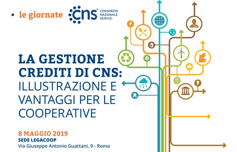 """Giornata CNS """"La Gestione del Credito di CNS – Illustrazioni e vantaggi per le cooperative"""""""